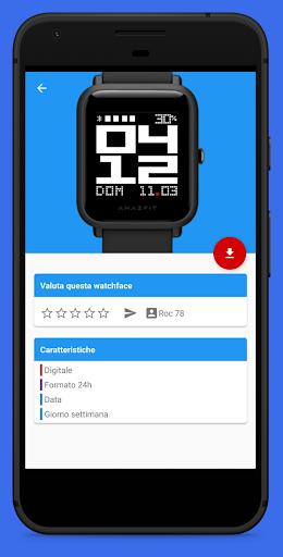 Amazfit Bip / Lite & Cor WatchFaces screenshot 5