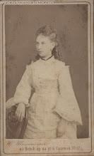 Photo: Баронесса Алина фон Эрн — выпускница Смольного института. Санкт-Петербург, 15 апреля 1874 г. Фотография Ю. Штейнберга. ГЛМ