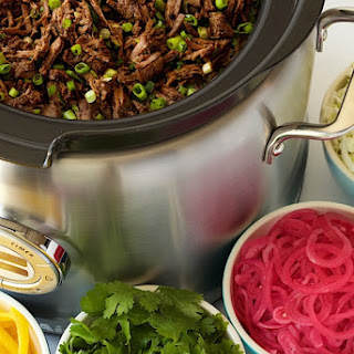 Slow Cooker Mexican Shredded Beef.