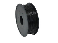 High Impact Polystyrene (HIPS) Dissolvable Black Filament - 1.75mm (1kg)