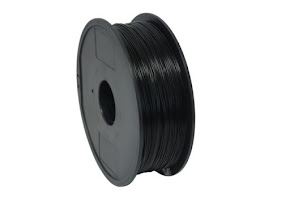 High Impact Polystyrene (HIPS) Dissolvable Black Filament - 1.75mm