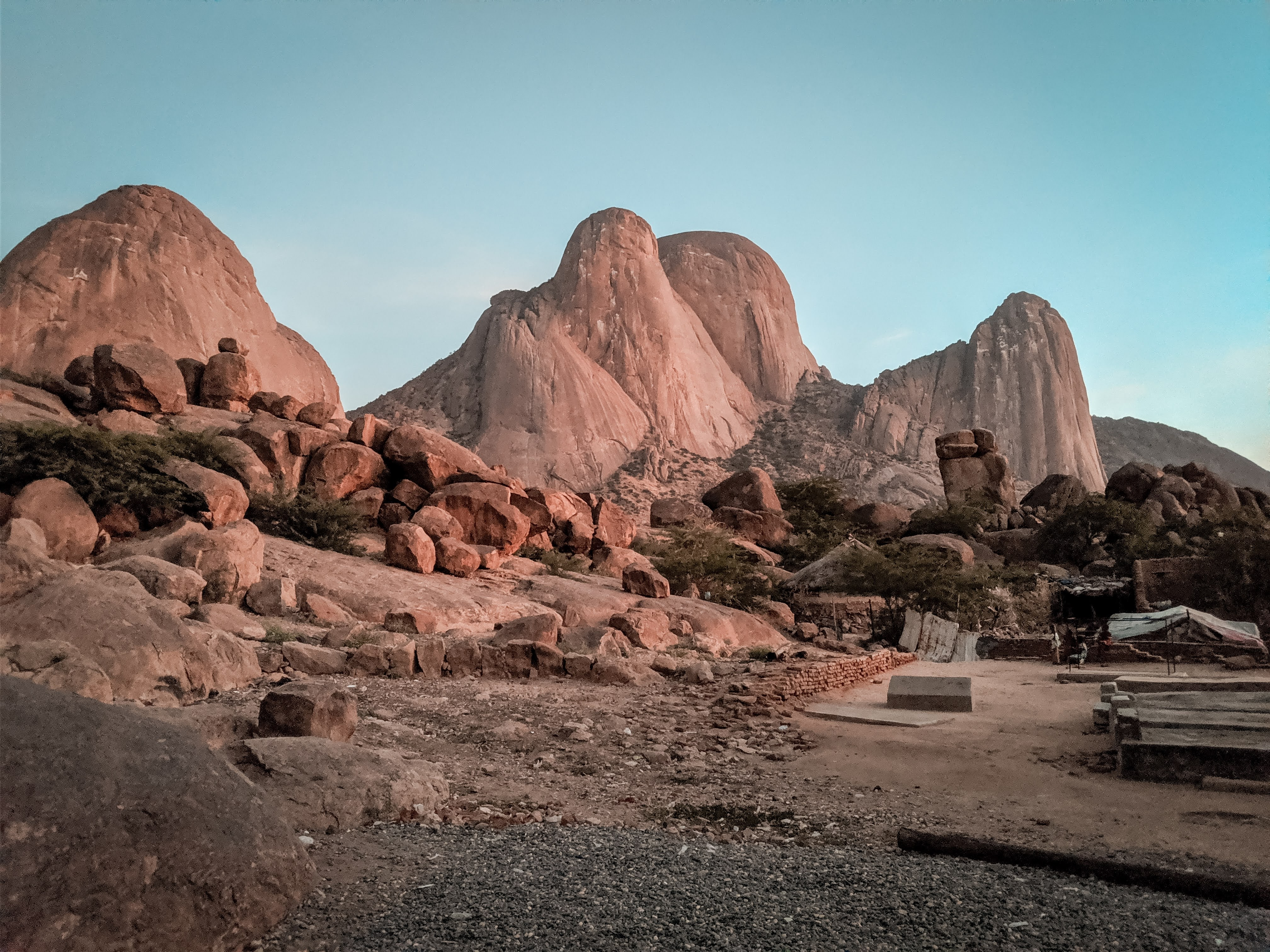 Taka mountains in Kassala, Sudan