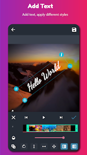 AndroVid Pro - Video Editor Screenshot