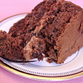 Decadent Chocolate Banana Cake.