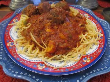 The Greenbriar Spaghetti Sauce (Dad's Recipe)