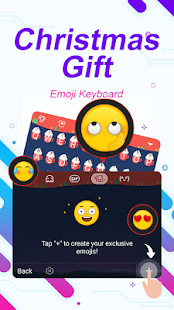 Christmas Eve Gift Theme&Emoji Keyboard - náhled