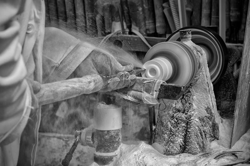 Lavorazione del marmo - Volterra - di RobertaSilvestro