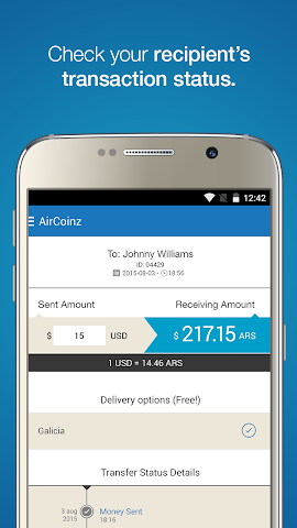 android AirCoinz Screenshot 2