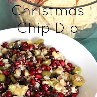 Clean Eating Christmas Chip Dip