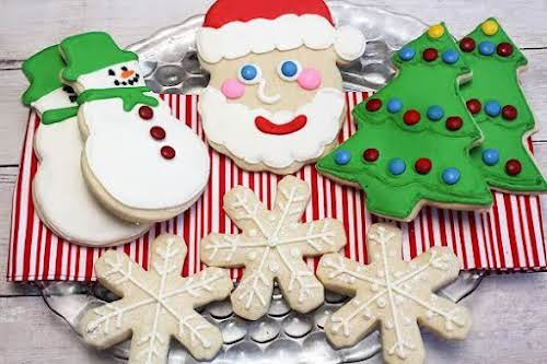 "Click Here for Recipe: Sugar Cookies ""This is a delicious cookie to..."