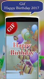 Gif Birthday 2017 - náhled