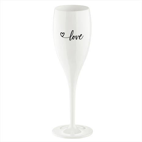 CHEERS NO.1 Champagneglas, LOVE 2.0 6-pack