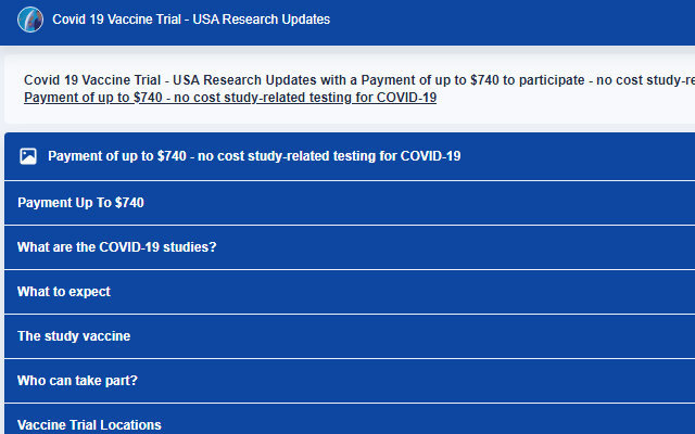 Covid 19 Vaccine Trial - USA Research Updates