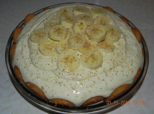 Eggnog Banana Pie Recipe