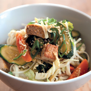 Annabel Langbein's Vegetable and Tofu Stir-Fry.