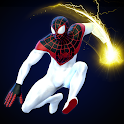 Spider Hero Rope Fight Ninja Gangster Crime City icon