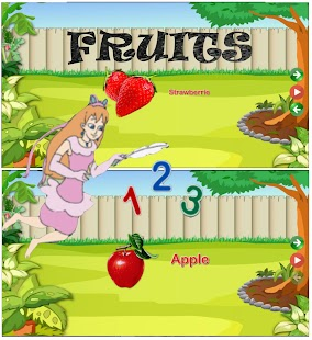 Learning Numbers Letters Animals Fruits in English - náhled