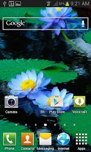 Nature Lotus Live Wallpaper screenshot 1