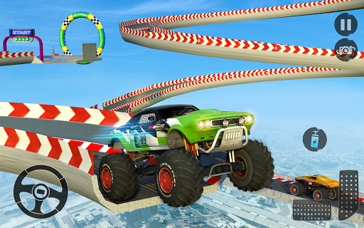 Monster Truck Mega Ramp Stunts Extreme Stunt Games screenshots 10