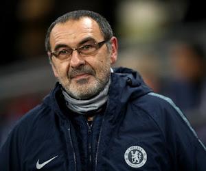 """Maurizio Sarri est satisfait : """"Chelsea m'a dit qu'il ne partira pas cet hiver et probablement l'été prochain non plus"""""""