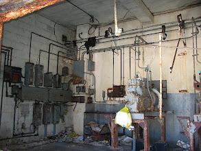 Photo: mechanical room of old school