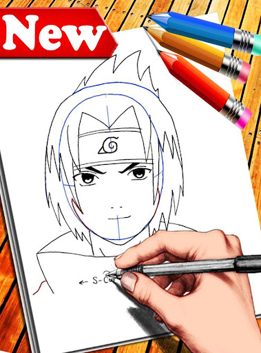 How to Draw Naruto Characters 1.6 screenshots 1