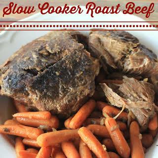 Slow Cooker Roast Beef.