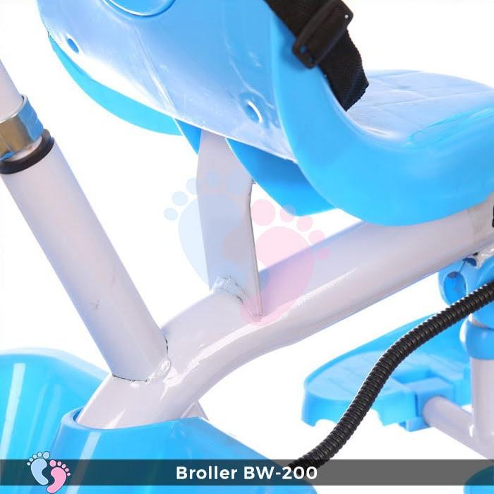 Xe đạp 3 bánh Broller XD3-200 có cây đẩy 15