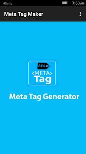 Meta Tag Maker 1
