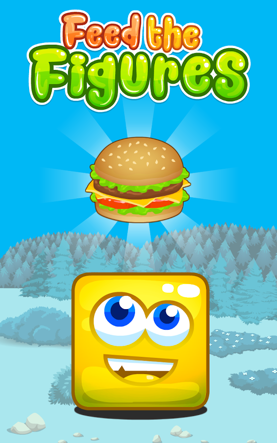 Feed the Figures - Burger Time- screenshot