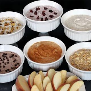 Yogurt Chia Fruit Dips