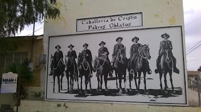 Photo: Roma - caballeros mural