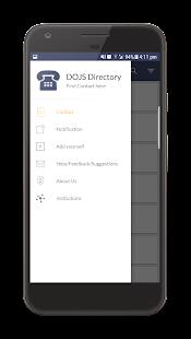 DOJS Directory - náhled