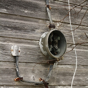 Abandoned Meter by Leslie Hendrickson - Artistic Objects Technology Objects