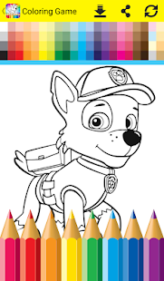 Coloring Book For Paw