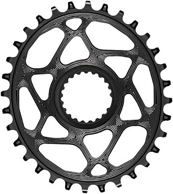 Absolute Black Oval Direct Mount Chainring - Shimano Direct Mount, 3mm Offset, Requires Hyperglide+ Chain alternate image 11