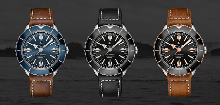 Breitling Superocean Heritage '57 Capsule Collection.