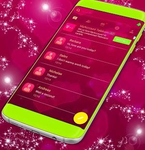 Love SMS Theme - náhled