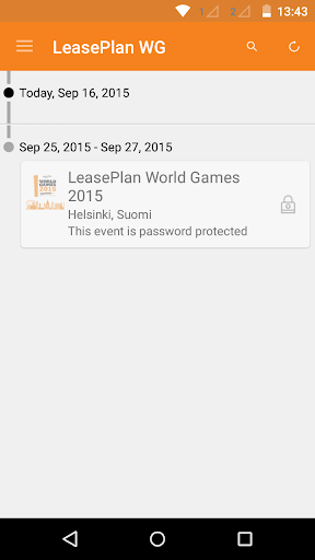 LeasePlan World Games 2015