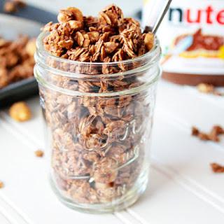 4-Ingredient Nutella Granola
