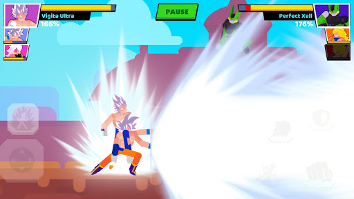 Stickman Warriors: Fighter Street - screenshot