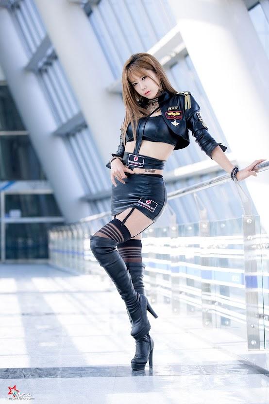 Heo Yun Mi tại G-STAR 2014
