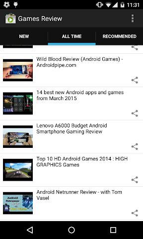 android Android Games Review Screenshot 1