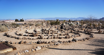 Photo: The labyrinth is modeled after the classic-seven circuit design first seen in Crete over 3500 years ago.