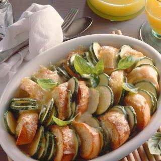 Brot-Zucchini-Auflauf
