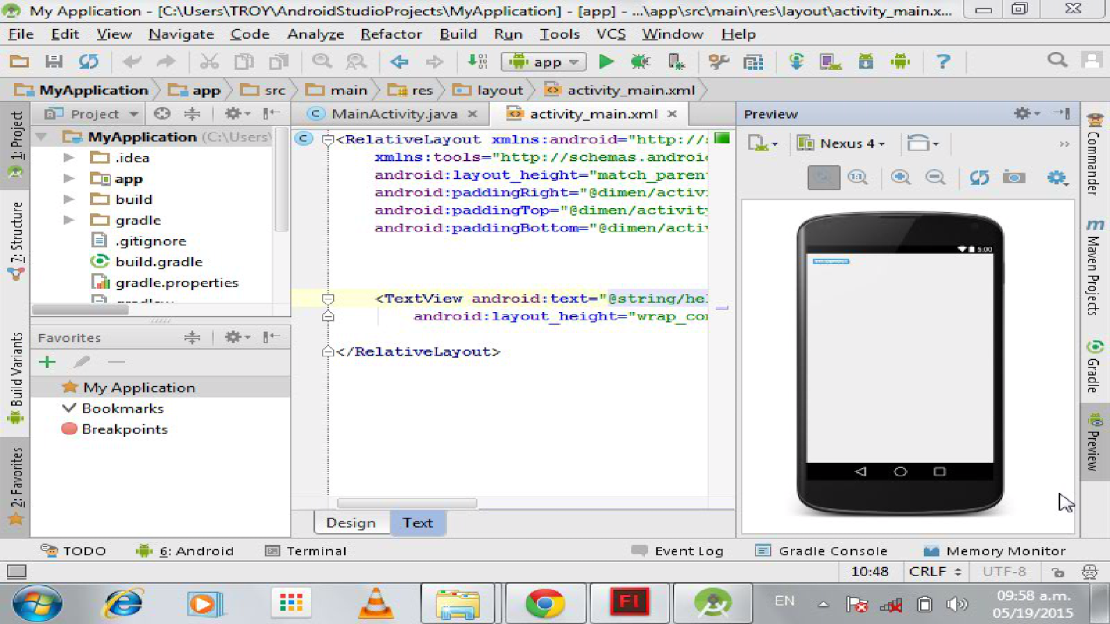 Android Studio Live Tutorial Android Apps On Google Play
