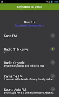 Keňa Radio FM Online - náhled