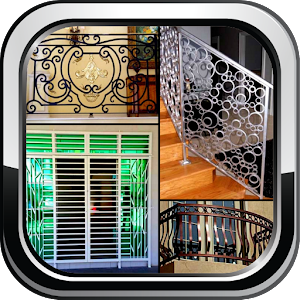 Home Grill Trellis Window Designs Metal Door Ideas - Android Apps ...