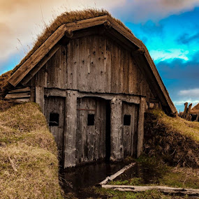 Vestrahorn, today by André Figueiredo - Buildings & Architecture Decaying & Abandoned (  )