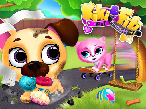 Kiki & Fifi Pet Friends - Furry Kitty & Puppy Care 2.0.98 screenshots 11